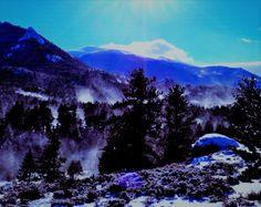 Colorado Cabins, Estes Park, Mountains, Nature, Travel, Naturaleza, Viajes, Destinations, Traveling