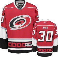 Cam Ward Jersey: Reebok Red #30 Carolina Hurricanes Premier Jersey