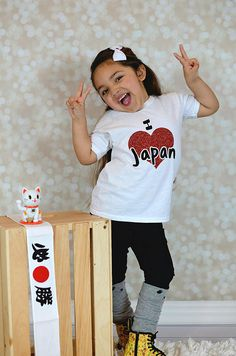 Japan Shirts Cute  Graphic Tee For Girls  Fun Japanese Shirt