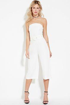 Belted Culotte Jumpsuit