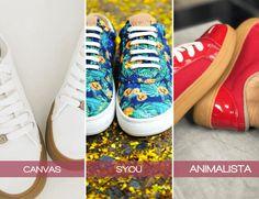 3 diseños de tenis para lucir fashion #Zapatos #Tenis #Moda #Amatista #Syou #Canvas #Moda #TiendasOnline