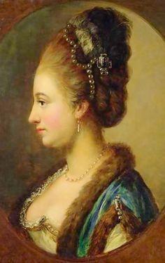 1770s - Philippine Amalie, Countess of Hessen-Kassel by Johann Heinrich Wilhelm Tischbein