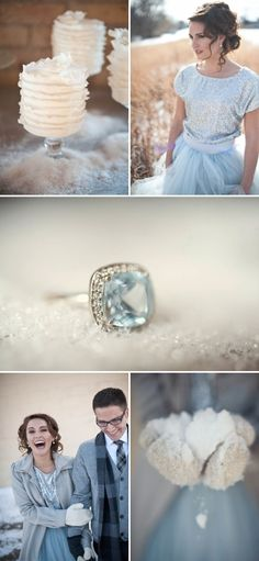 Winter Wedding Inspiration Shoot by Simply Fabulous Events and Design | Style Me Pretty