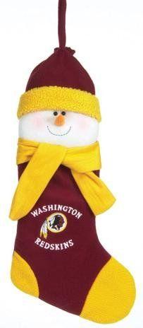 15b1f9990 SC Sports Washington Redskins Snowman Stocking – Washington Redskins One  Size
