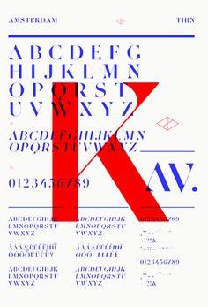 Typographies – Amsterdam – Les Graphiquants