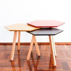 mesas linea sexta cuchara diseño