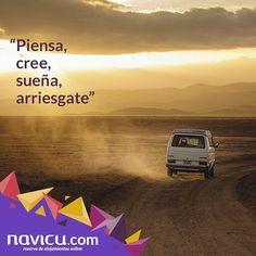 Tomar riesgos trae consigo grandes sorpresas. Vive viaja!  #navicu #reservas #hospedajes #hotel #hoteles #destinos #viajando #turismo #venezuela #instalovenezuela #venezuelagarden #venezuelafotos_ #venezuelafotos #igersvenezuela #nuestravenezuela #loves_venezuela #frases #frasedeldia by _navicu