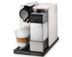 """The DeLonghi Nespresso Lattissima Touch capsule coffee machine in white with patented """"automatic cappuccino system"""" system Cafe Nespresso, Nespresso Machine, Coffee Type, Coffee Pods, Nespresso Lattissima, Automatic Coffee Machine, Cappuccino Machine, Latte Macchiato, White Coffee"""
