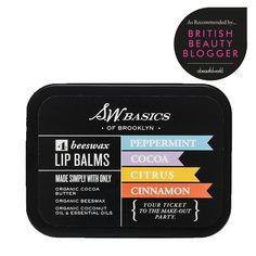S.W. Basics Organic Lip Balm Flights | abeautifulworld