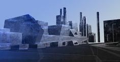 iratt - cities by iraisynn attinom, via Behance Opera House, Cities, Behance, Digital, Building, Travel, Construction, Trips, Buildings