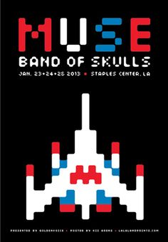 designed by Kii Arens Muse and Band of Skulls