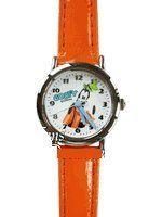 Disney Goofy Wrist Watch w/ leather band . $35.00. Analog Face WatchQuartz AccuracyFaux Leather Band