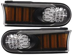 Anzo FJ Cruiser LED Parking Lights All Black Amber [511078] - $292.95 : Pure FJ Cruiser Accessories, Parts and Accessories for your Toyota FJ Cruiser