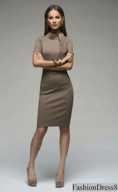 Casual Pencil Dress for WomanCustom Jersey Dress by FashionDress8
