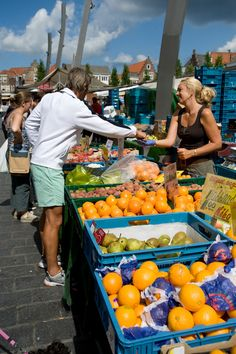 Marktdag in Goes
