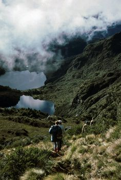 Hiking in magical destinations