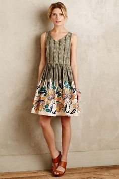 Anthropologie Lucia Dress #anthrofave