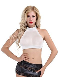 c38087589e3daa Women's Outfit Inspiration for White Wednesday at Burning Man — Dusty Depot  Cropped Tank Top,