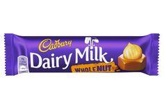 Cadbury Dairy Milk Whole Nut | Cadbury.co.uk