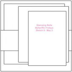 Bellarific card sketch