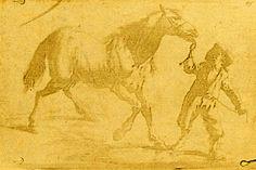 El grabado heliográfico más antiguo que se conserva, reproduciendo un grabado flamenco. Ensayo realizado en 1825 por Niépce, por contacto, sin cámara oscura.