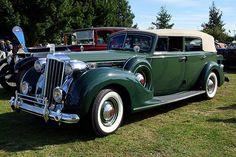 1939 Packard V12 Convertible Sedan