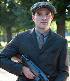 They did it again. Another favorite character! (sigh) Charlie Cox as Owen Slater in Boardwalk Empire.