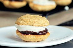 """Did whoopie pies get their name from the fact that we want to yell """"whoopie!"""" every time we're offered one? Especially these S'mores Whoopie Pies."""