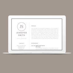 classic resume template 120040 is for anyone looking to create a professional resume and cover letter with ease edit in ms word and iwork pages - Iwork Pages Resume Templates