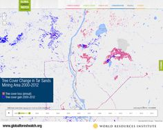 New Map Shows Dramatic Time Lapse of Canadian Tar Sands Deforestation