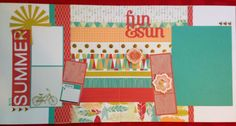 Shay & J Crafts: Scrapbook Layout Free to be me