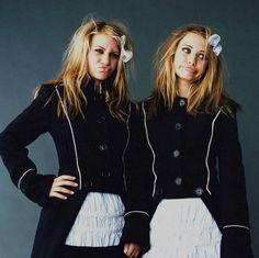 Mary Kate and Ashley Olson