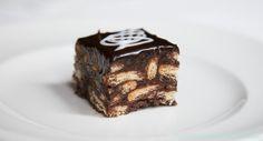 Backen macht glücklich   Kalter Hund, wunderbarer Schokoladenkuchen mit Keksen   http://www.backenmachtgluecklich.de