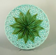 Antique Majolica Reticulated Platte by Villeroy & Boch