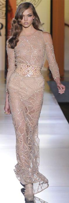 Versace  Model: Karlie Kloss