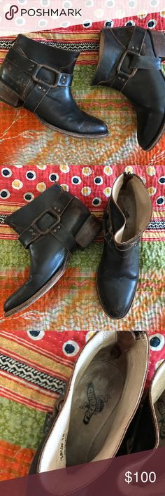 Freebird Steve Madden booties Only worn a couple of times! Steve Madden Shoes Ankle Boots & Booties