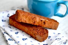 DF GF Chocolate Almond Biscotti