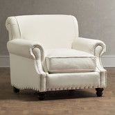 Reading nook option - Birch Lane - Landry Arm Chair $719.  Looks super comfy and inviting