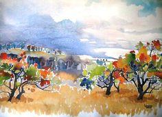 Lorraine Wilson  Proteas in the Drakensberg