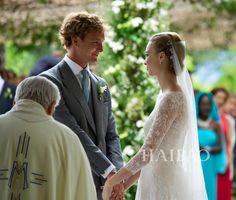 モナコ王子の結婚式 欧州の名家が勢揃い