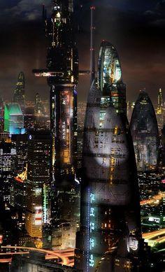 #киберпанк #cyberpunk #фантастика #scifi #future #art #illustration #conceptart #cyberpunk #art #graphic #future Вы бы прыгнули в такое будущее?
