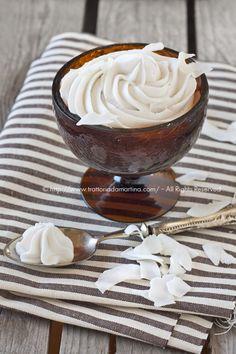 panna montata di latte di cocco
