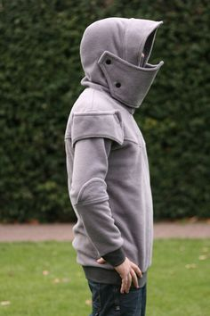 Knight Armour hoodie  Medieval hoodie for men  knight by tatoke, $130.00