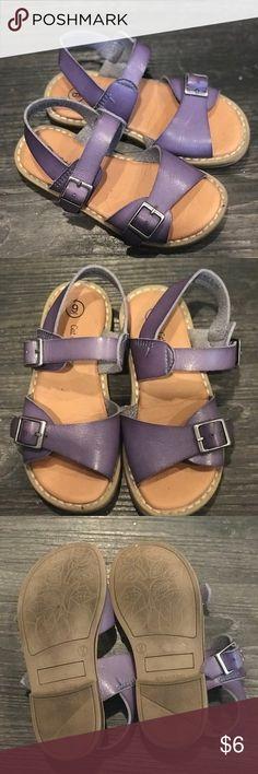 Toddler Sandals Sz 9 Purple Shoes Sandals & Flip Flops
