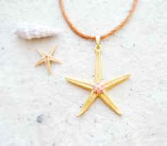 Star fish necklace!