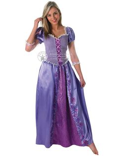Adult Disney Rapunzel Fancy Dress Costume Princess Fairytale Tangled Ladies #Rubies #CompleteOutfit