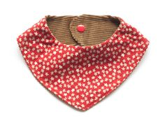 Teething bib for girls, baby drooling bib, girl bandana bib, dribble bib, organic cotton drooling bib, organic baby gift, drool bib