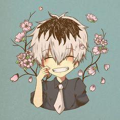 Tokyo ghoul :re Kaneki Anime Chibi, Kaneki Chibi, Chibi Tokyo Ghoul, Anime Yugioh, Manga Anime, Anime Body, Anime Pokemon, Ken Kaneki Tokyo Ghoul, Anime Kawaii