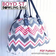 Boyd Street Bowling Bag 2 Emmaline Bags
