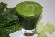 Spinach Melon Smoothie